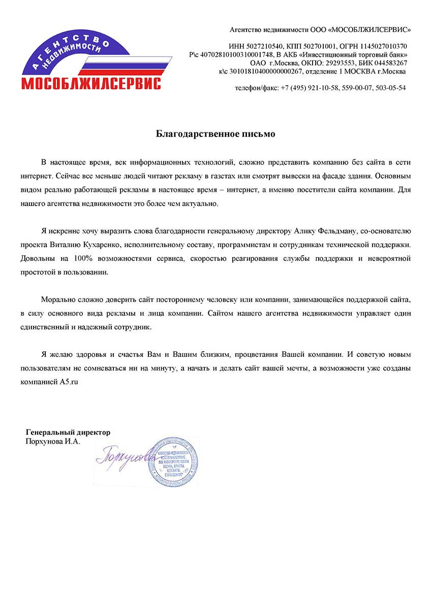 Отзыв от компании an-lybercy.ru