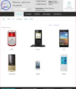 Интернет магазин цифровых товаров
