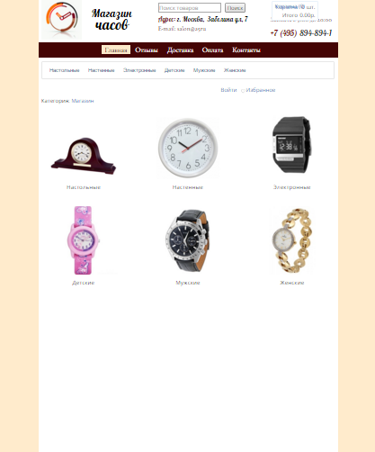 Инструменты для создания сайта